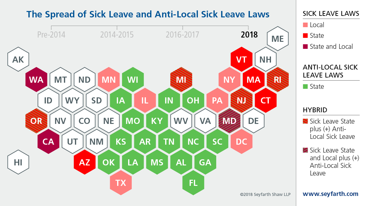 Employment Law Lookout Workplace Policies Processes November 2014 Line Circuit Blog Note 1 2018 Has Seen The Paid Sick Leave Epidemic Spread To Only Three Additional Localities However Continued Evolve And Expand As